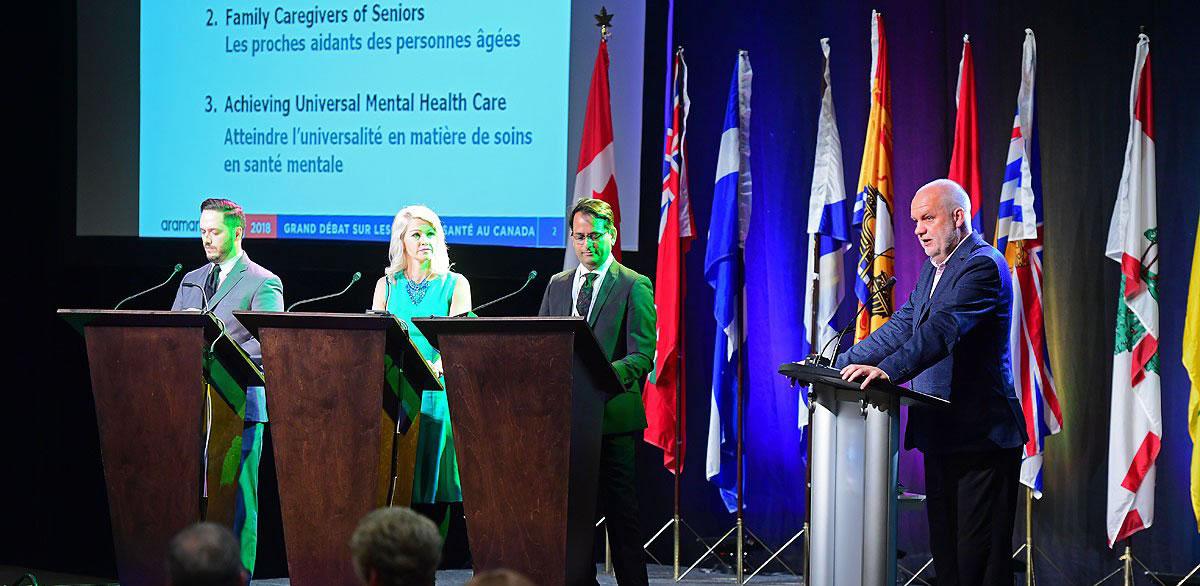 National Health Leadership Conference – Great Canadian Healthcare Debate (June 2018)