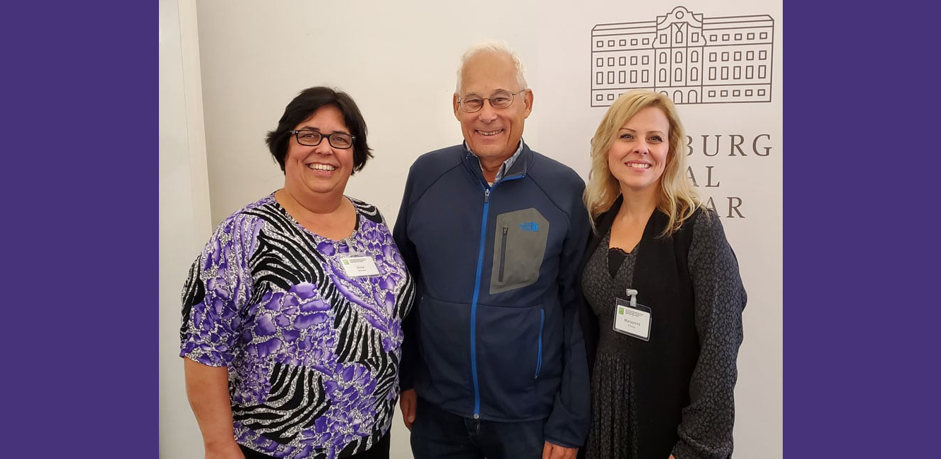 Salzburg Global Seminar for measuring patient safety (left to right): Gina De Souza, Canadian Patient Safety Institute; Don Berwick, Institute for Healthcare Improvement; and Maryanne D'Arpino, Canadian Patient Safety Institute